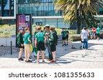 portugal  lisbon 29 april 2018  ... | Shutterstock . vector #1081355633
