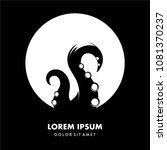 simple modern ooctopus logo... | Shutterstock .eps vector #1081370237
