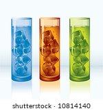 ice tea. vector.   Shutterstock .eps vector #10814140