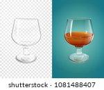 cognac 3d vector illustration... | Shutterstock .eps vector #1081488407