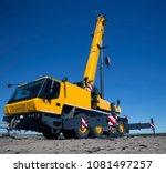 nadym  russia   april 27  2018  ...   Shutterstock . vector #1081497257