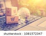 online shopping   retail...   Shutterstock . vector #1081572347
