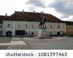 Small photo of Alba Iulia, Romania, December 20, 2014. Medieval fortress and historical site in Alba Iulia, Transylvania, Romania.