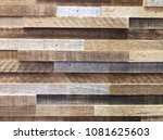 aged wood. seamless pattern... | Shutterstock . vector #1081625603