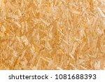fiberboard of a wood panel | Shutterstock . vector #1081688393