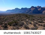 red rock canyon national... | Shutterstock . vector #1081763027