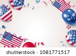 4th of july. usa independence... | Shutterstock .eps vector #1081771517
