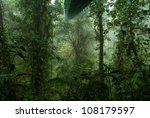 tropical rain forest in costa... | Shutterstock . vector #108179597