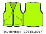 green vest design vector   Shutterstock .eps vector #1081818017