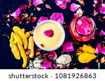 ayurvedic face pack to reduce... | Shutterstock . vector #1081926863