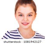 beauty model  portrait of a... | Shutterstock . vector #1081942127