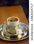 turkish coffee served with... | Shutterstock . vector #1082024717