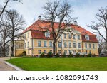 the ancient manor against the... | Shutterstock . vector #1082091743