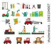 illustration of the process of... | Shutterstock .eps vector #1082104007