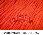 the sand is red. the... | Shutterstock . vector #1082110757