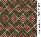 knitting wool sweater design.... | Shutterstock .eps vector #1082151107