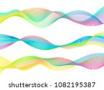 colorful abstract design... | Shutterstock .eps vector #1082195387