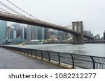 brooklin bridge and manhattan... | Shutterstock . vector #1082212277