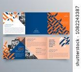 brochure design  brochure... | Shutterstock .eps vector #1082243387