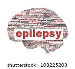 epilepsy symbol isolated on...   Shutterstock . vector #108225203
