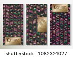 vector set packaging templates... | Shutterstock .eps vector #1082324027