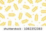 oat pattern vector. free space... | Shutterstock .eps vector #1082352383