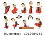 cartoon count dracula wearing... | Shutterstock .eps vector #1082404163