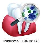 a medical dental illustration... | Shutterstock .eps vector #1082404457