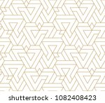 abstract geometric pattern with ... | Shutterstock .eps vector #1082408423