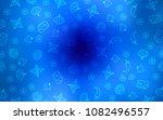 light blue vector texture with... | Shutterstock .eps vector #1082496557