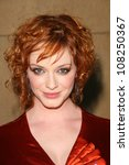 Christina Hendricks  At The...