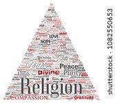 vector conceptual religion  god ...   Shutterstock .eps vector #1082550653