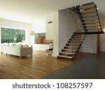 contemporary house  staircase... | Shutterstock . vector #108257597