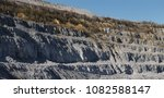 side of a large quarry ...   Shutterstock . vector #1082588147