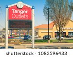 Small photo of Lancaster, PA, USA - May 1, 2018: Tanger Outlets is a shopping-mall chain featuring a variety of brand-name and designer outlet stores with 44 outlet centers in 22 states.
