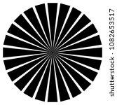 radial lines  starburst ... | Shutterstock .eps vector #1082653517