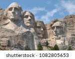 Small photo of Mt. Rushmore is a National Monument in the American State of South Dakota