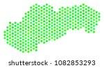 fresh green slovakia map.... | Shutterstock .eps vector #1082853293