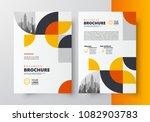 flyer brochure design template... | Shutterstock .eps vector #1082903783