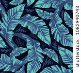 tropical seamless pattern with... | Shutterstock .eps vector #1082940743