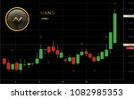nano cryptocurrency coin... | Shutterstock .eps vector #1082985353