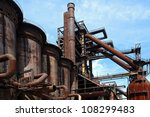 Old Close Blast Furnace Under...