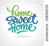 'home Sweet Home' Hand...