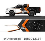 car livery graphic vector.... | Shutterstock .eps vector #1083012197