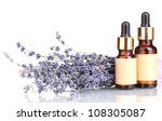lavender flowers and aroma oils ... | Shutterstock . vector #108305087