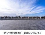 empty marble floor in heaven of ... | Shutterstock . vector #1083096767