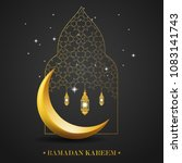 ramadan kareem islamic design... | Shutterstock .eps vector #1083141743