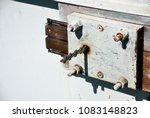 the inside of the bolt lock... | Shutterstock . vector #1083148823