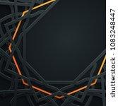 islamic pattern vector...   Shutterstock .eps vector #1083248447