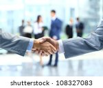 Business Handshake And Busines...